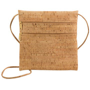 Cork Double Zipper Cross Body Bag | Field Museum Store