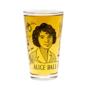 Alice Ball Pint Glass | Field Museum Store