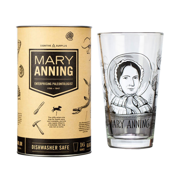 Mary Anning Pint Glass | Field Museum Store
