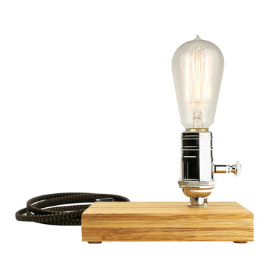 Davy Light with Bamboo Base | Field Museum Store