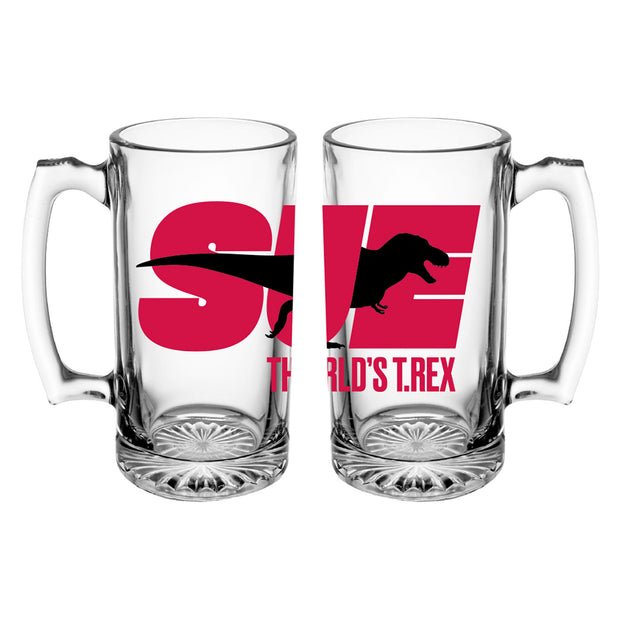 SUE the T. rex Large Glass Stein | Field Museum Store