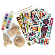 Wooden Spaceship Craft Kit | Field Museum Store