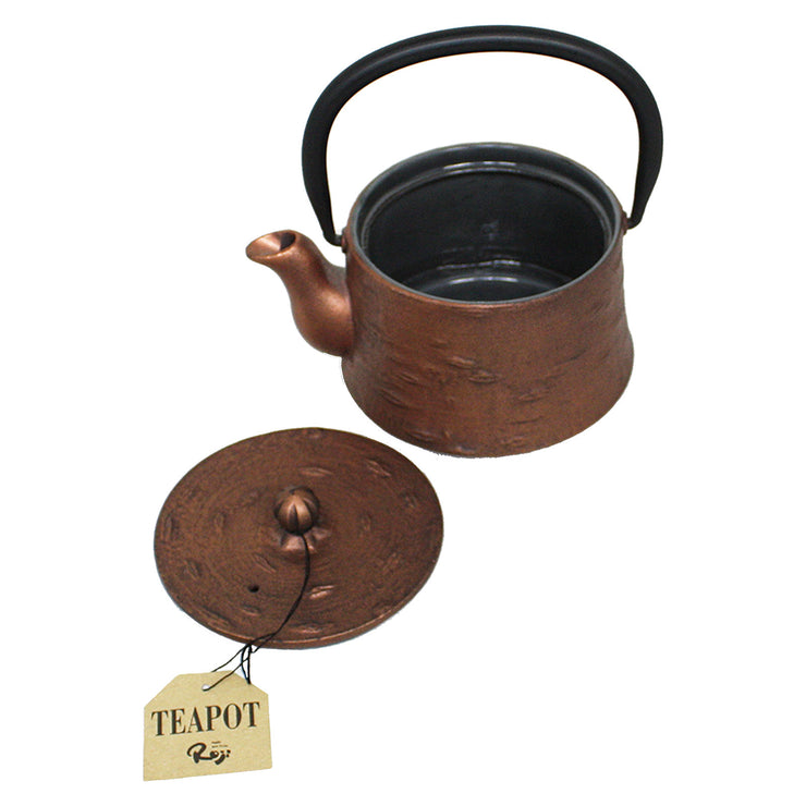 Cherry Bark Cast Iron Teapot | Field Museum Store