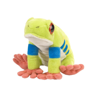 Red Eyed Trey Frog Plush | Field Museum Store
