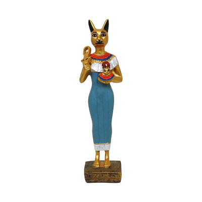 Standing Colored Bastet | Field Museum Store
