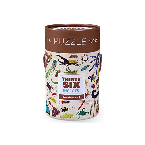 Thirty Six Insects 100 Piece Puzzle | Field Museum Store