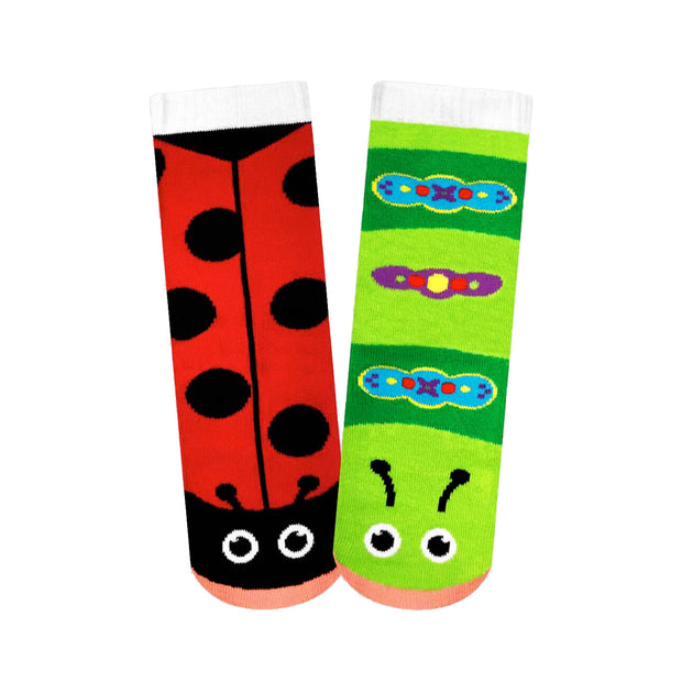 Ladybug & Caterpillar Youth Socks | Field Museum Store