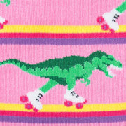 Rawr-ler Rink Knee High Socks | Field Museum Store