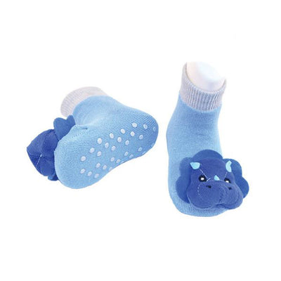 Triceratops Infant Rattle Socks | Field Museum Store
