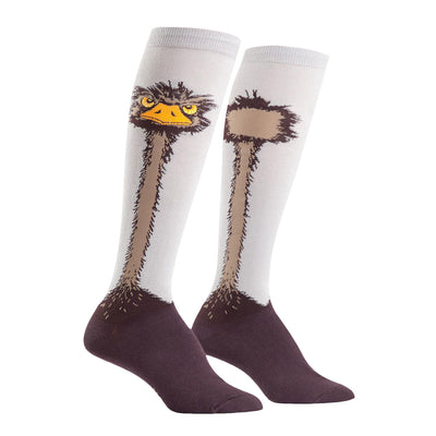 Ostrich Knee High Socks | Field Museum Store