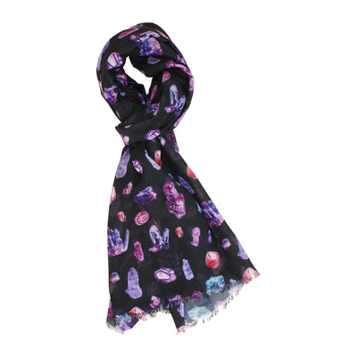 Crystals Lightweight Scarf | Field Museum Store