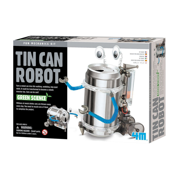 Tin Can Robot Kit | Field Museum Store