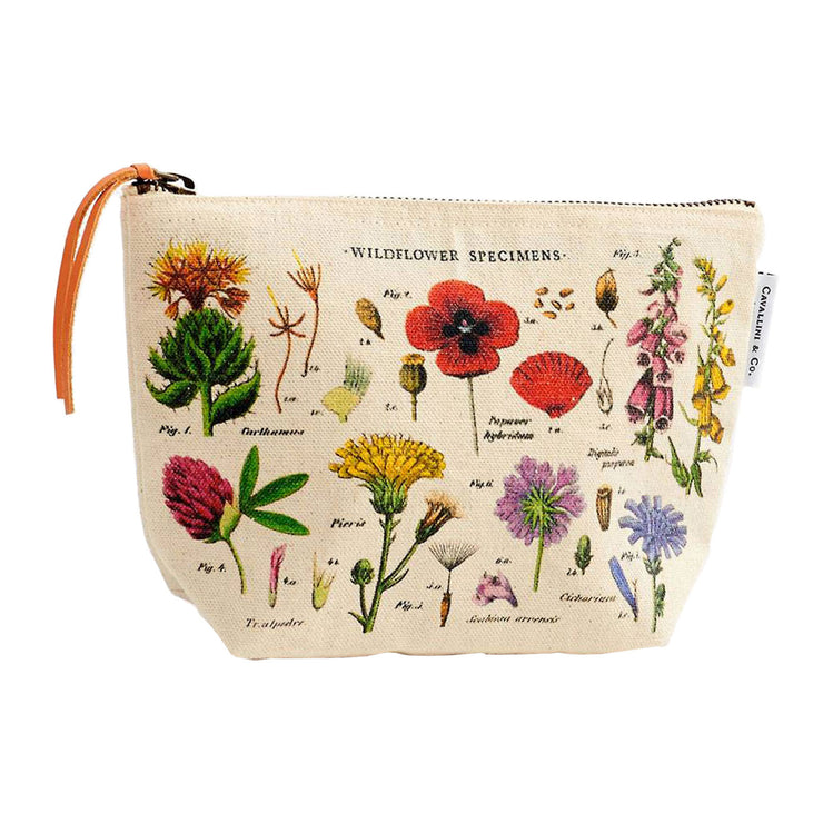 Wildflower Pouch | Field Museum Store