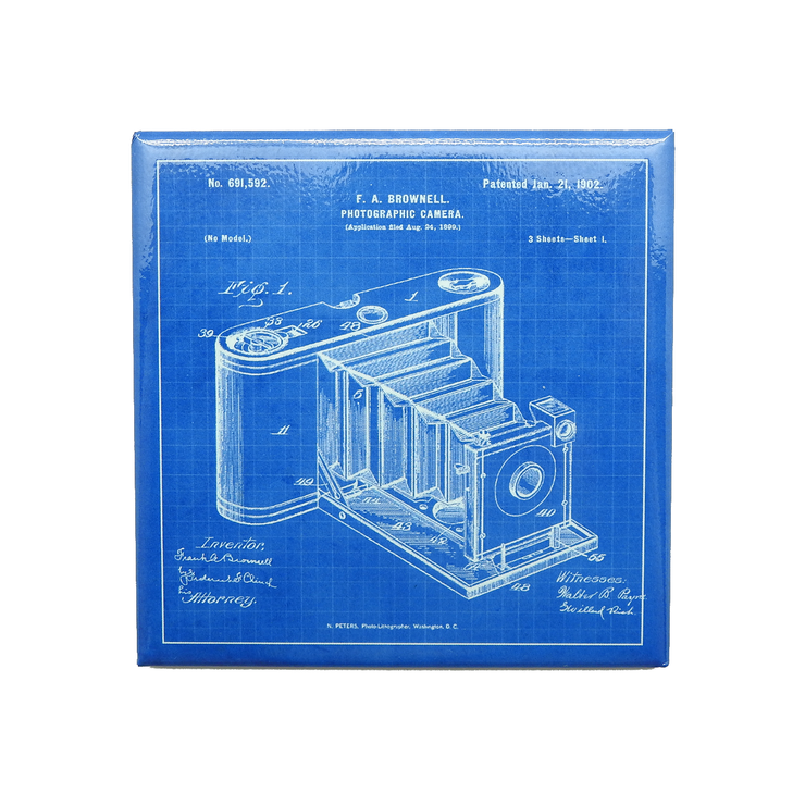 Camera Patent Magnet | Field Museum Store