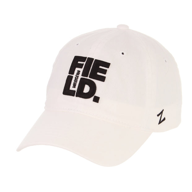 Field Museum Strapback Hat - White | Field Museum Store