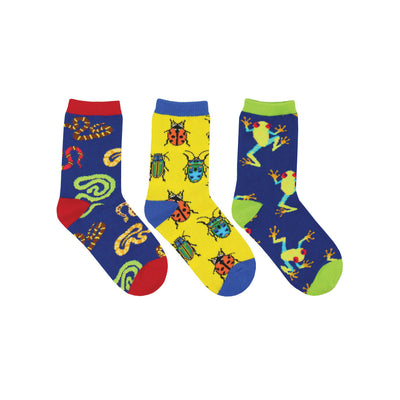Science Camp Youth Socks 3 Pack | Field Museum Store