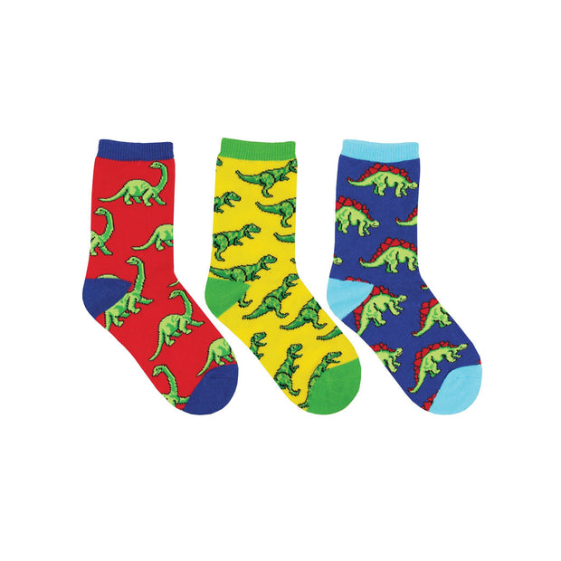 Dino-Mite Youth Socks 3 Pack | Field Museum Store