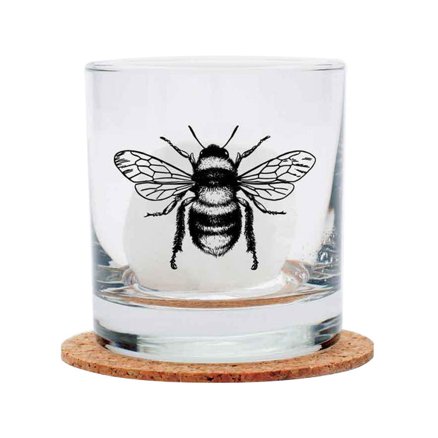 Honey Bee Rocks Glass | Field Museum Store