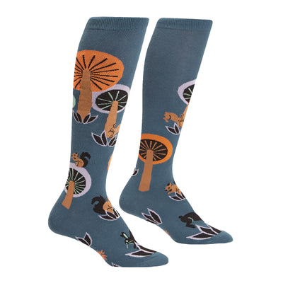 Woodland Wonderland Knee High Socks | Field Museum Store