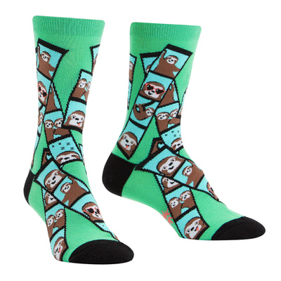 Sloth Photobooth Socks | Field Museum Store