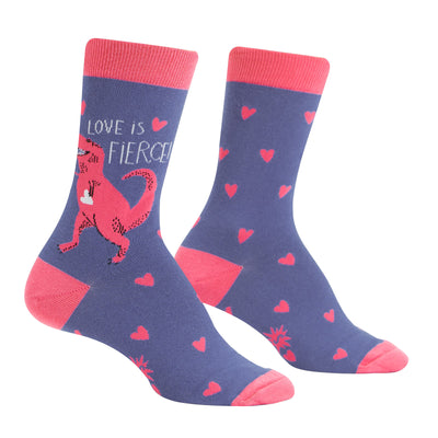 Love is Fierce Socks | Field Museum Store