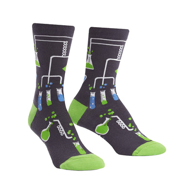 Glow-in-the-Dark Laboratory Crew Socks | Field Museum Store