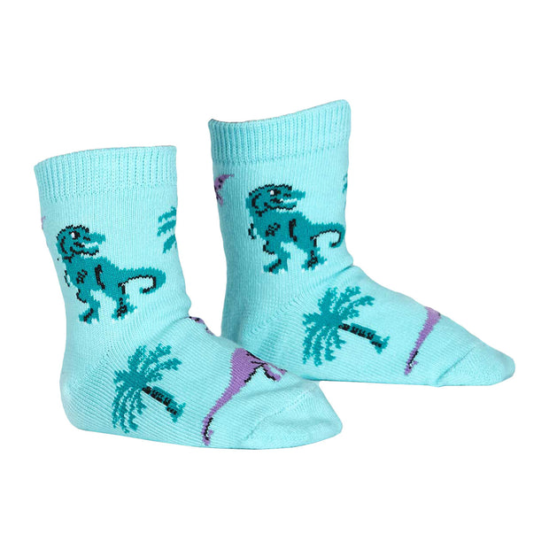 Land of the Dino Toddler Crew Socks | Field Museum Store