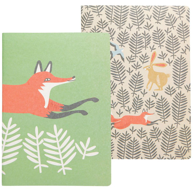 Fox & Hare Notebook Set | Field Museum Store
