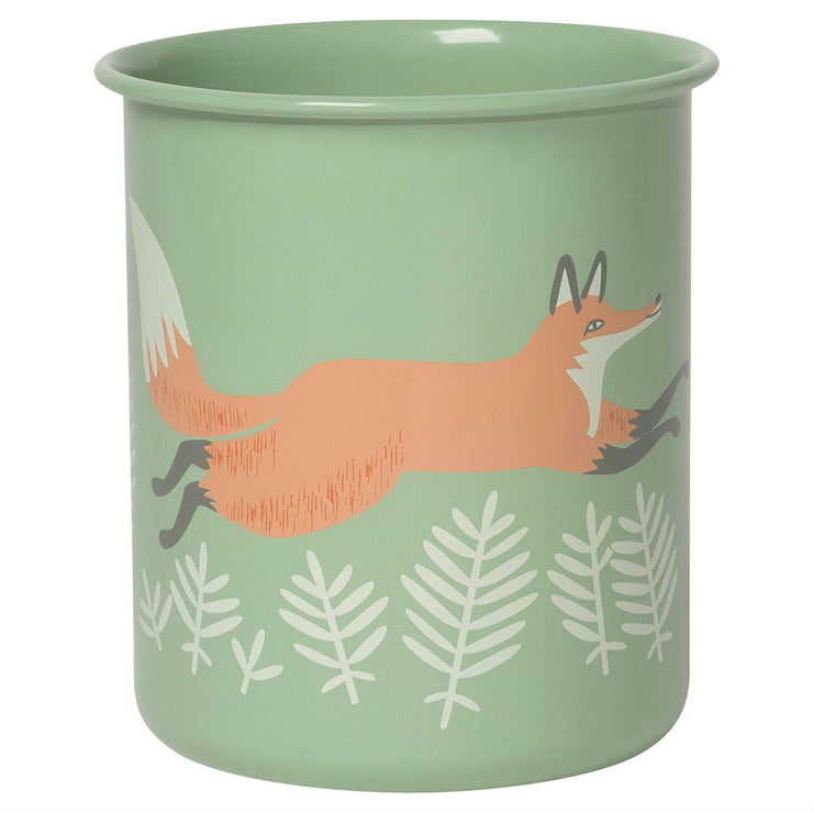 Fox & Hare Pencil Cup | Field Museum Store