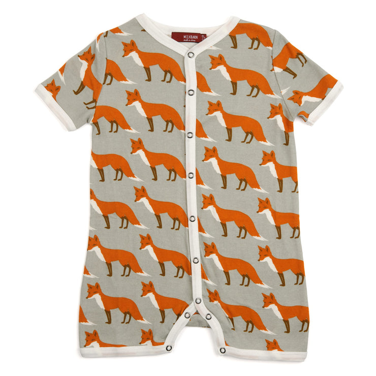 Orange Fox Baby Shortall | Field Museum Store