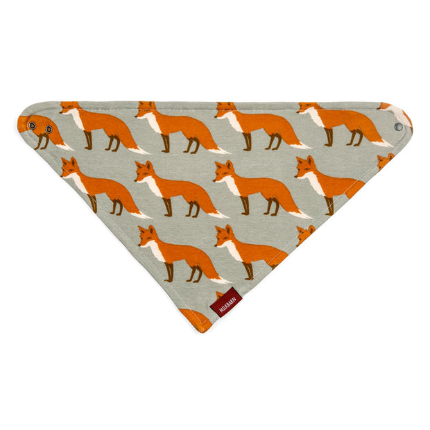 Orange Fox Kerchief Bib | Field Museum Store
