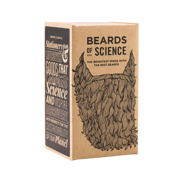 Beards of Science Pint Glass | Field Museum Store