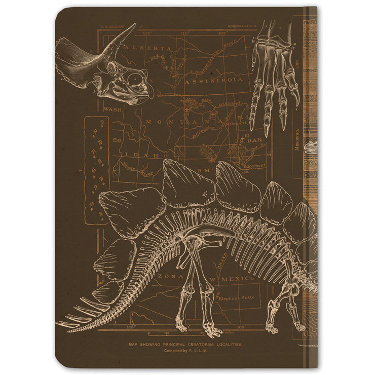 Dinosaur Hardcover Notebook - Dot Grid | Field Museum Store