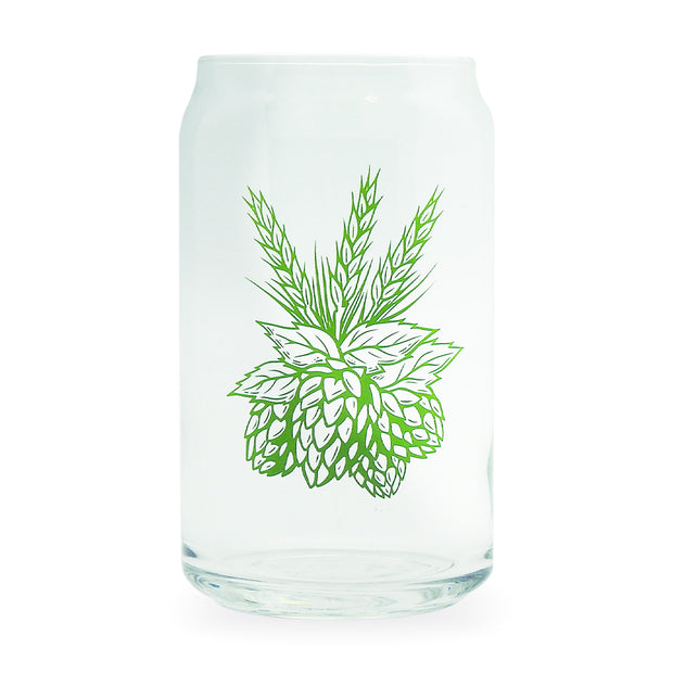 Hops & Barley Can Glass | Field Museum Store