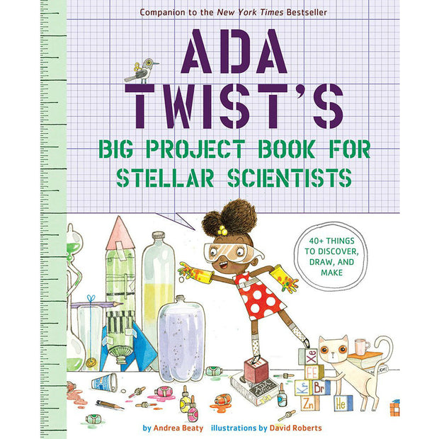 Ada Twists Big Project Book for Stellar Scientists | Field Museum Store