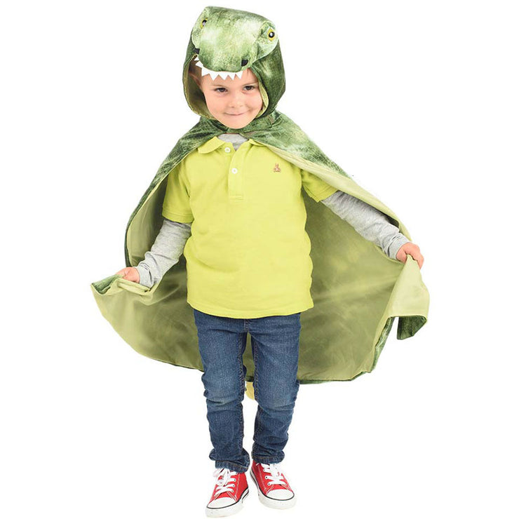 T. rex Hooded Cape | Field Museum Store