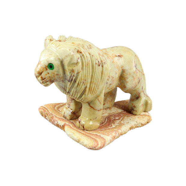 Lion with Rock Base | Field Museum Store