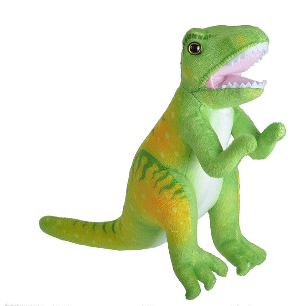 Lime & Yellow T. rex Plush | Field Museum Store