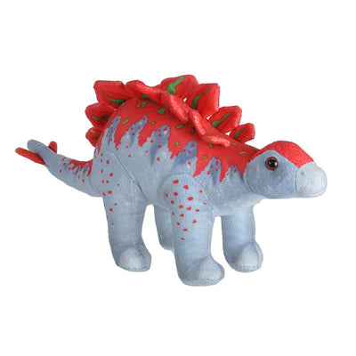 Red & Grey Stegosaurus Plush | Field Museum Store