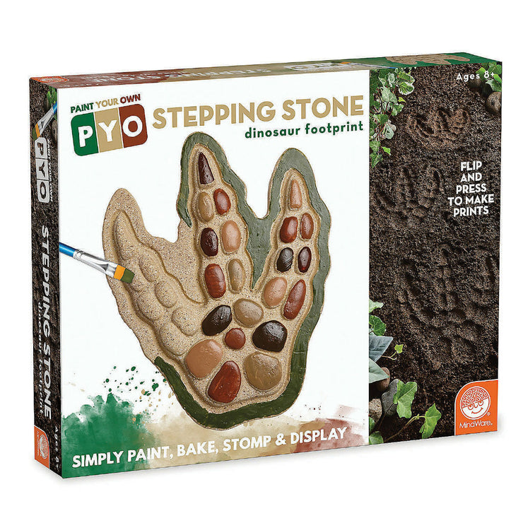 Paint Your Own Stepping Stone: Dinosaur Footprint | Field Museum Store