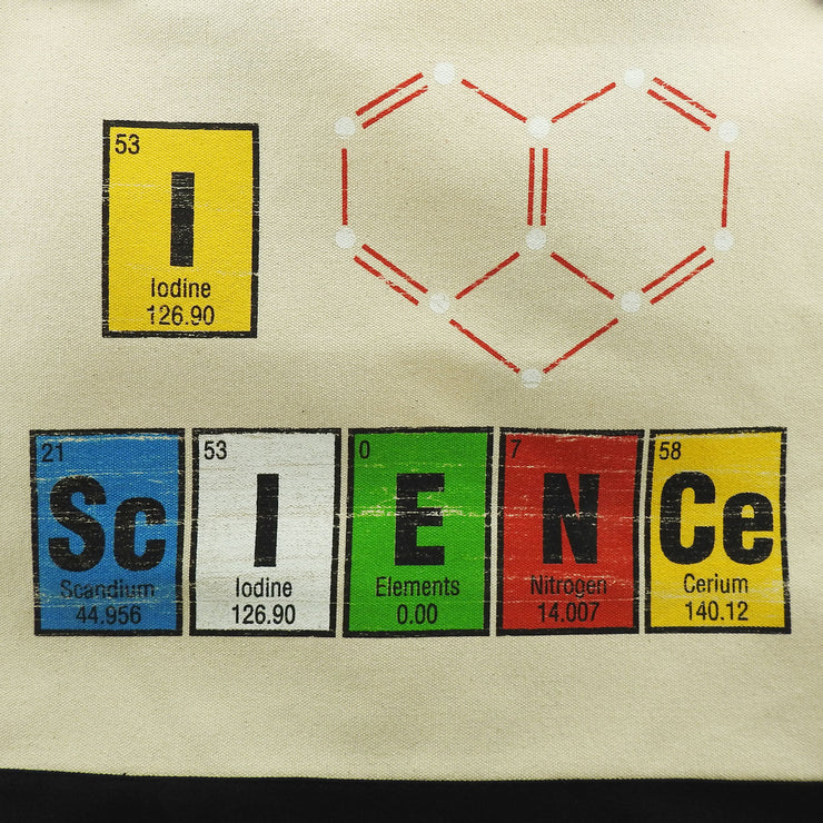 I Heart Science Tote Bag | Field Museum Store