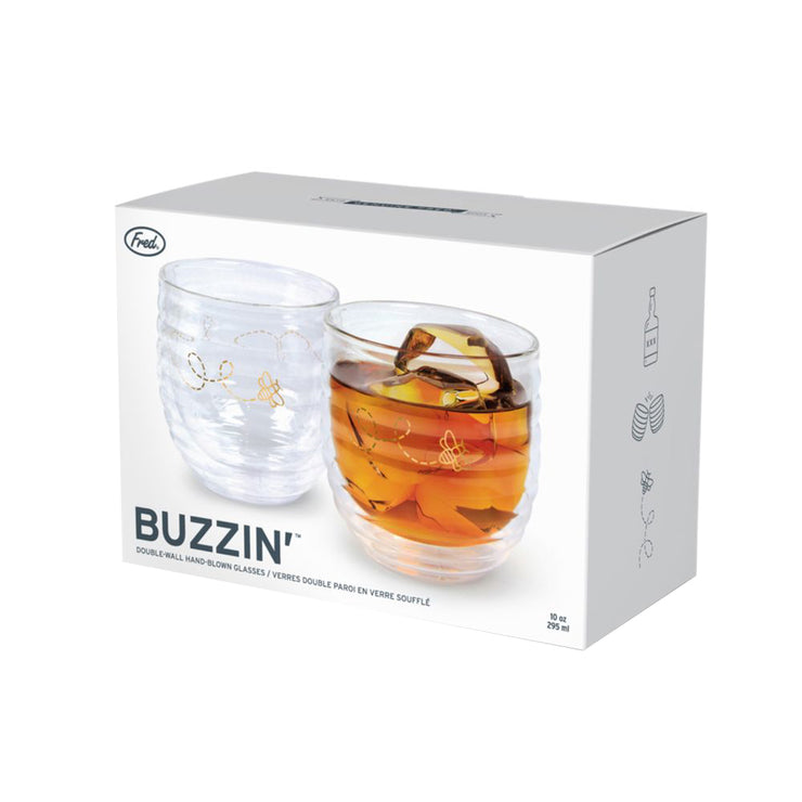 Buzzin Hand-Blown Glass Set | Field Museum Store