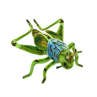 Lifelike Green Grasshopper Plush | Field Museum Store