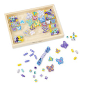 Butterfly Wooden Beads Jewelry Kit | Field Museum Store