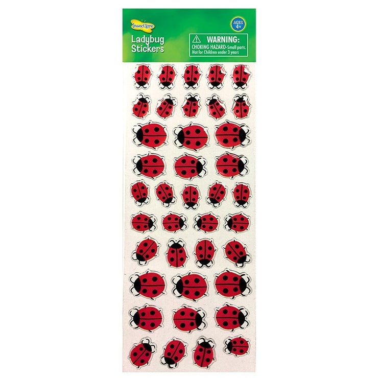 Ladybug Stickers | Field Museum Store