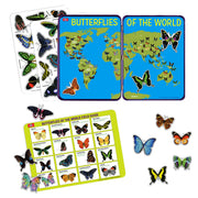 Butterflies of the World Educational Magnets Tin | Field Museum Store