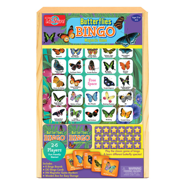 Butterfly Bingo Travel Game | Field Museum Store
