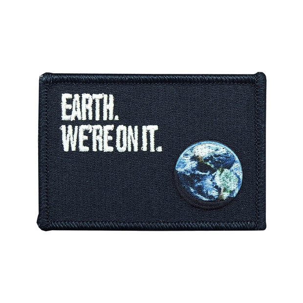 Earth. We're On It. Patch | Field Museum Store