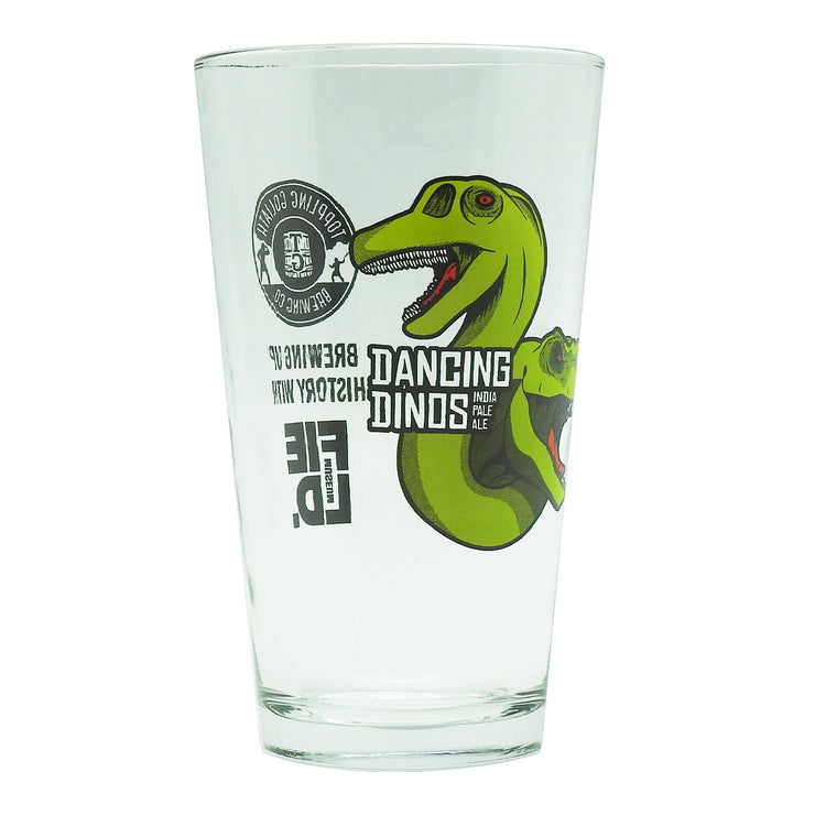Dancing Dinos IPA Pint Glass | Field Museum Store