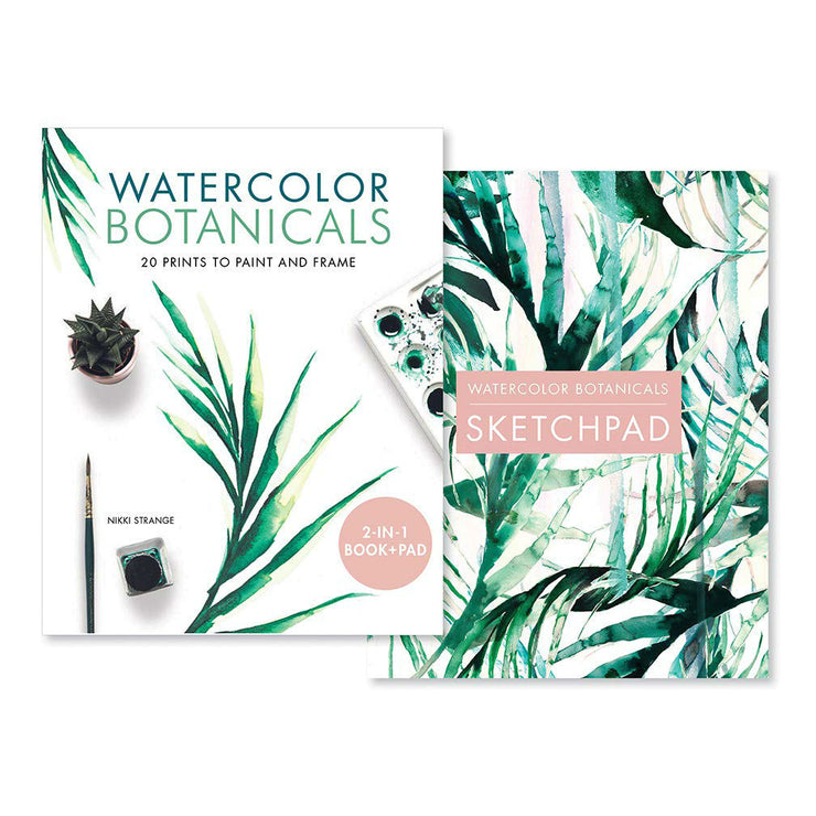 Watercolor Botanicals: 20 Prints to Paint and Frame | Field Museum Store